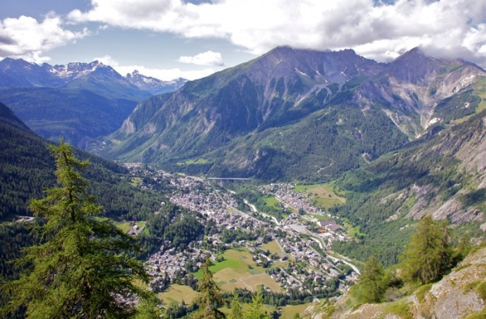 Courmayeur Valley