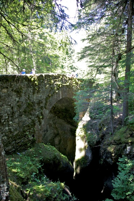 Roman road and Old Bridge