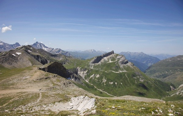 View from Col Du Bonhomme