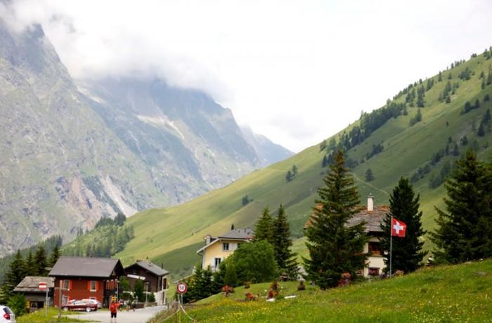 Swiss village, Val Ferret