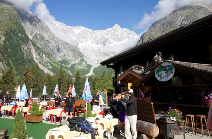 La Fouly, TMB Switzerland