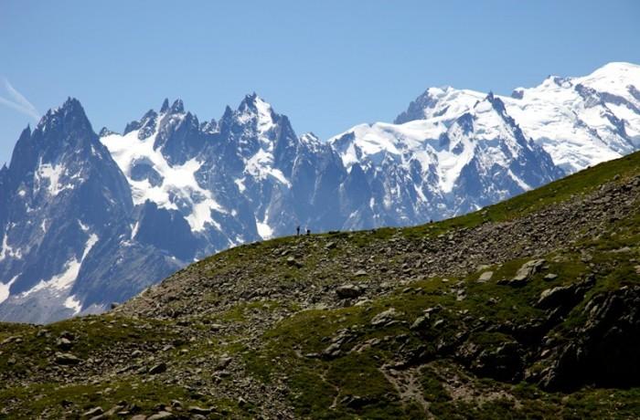 Views of the Aiguilles Rouges