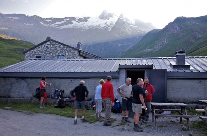 Refuge at Les Mottets